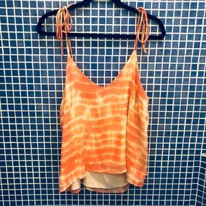 •NWT• Honey Punch Tie-Dye Pink Spring Tank